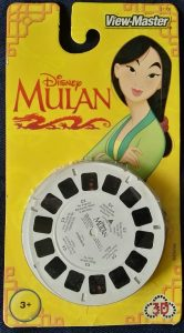 ViewMaster Set Mulan