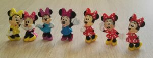 Sammelfiguren Minnie Maus