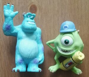 Sammelfiguren Monsters Inc.