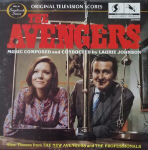 LP Music from The Avengers and The Professionals
